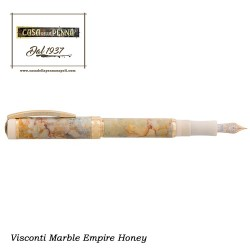 MILLIONAIRE Marble Empire Honey - penna stilo roller VISCONTI