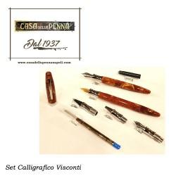 set calligrafico VISCONTI