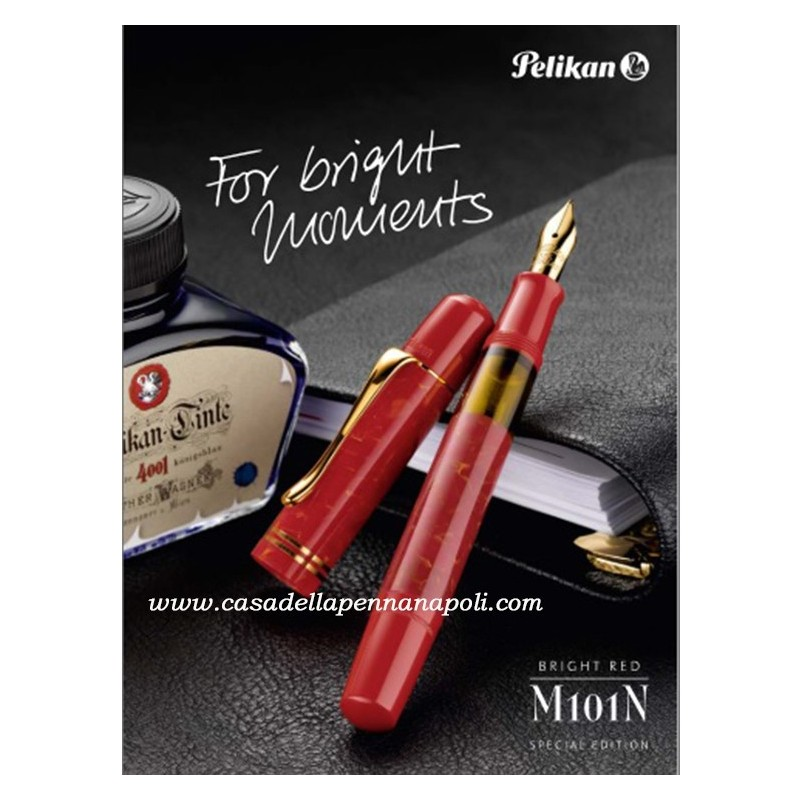 M101N Bright Red - SPECIAL EDITION PELIKAN
