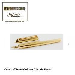 CARAN D'ACHE Madison Clou de Paris grana riso - stilografica Caran d'Ache