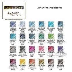 Iroshizuku - PILOT ink inchiostro