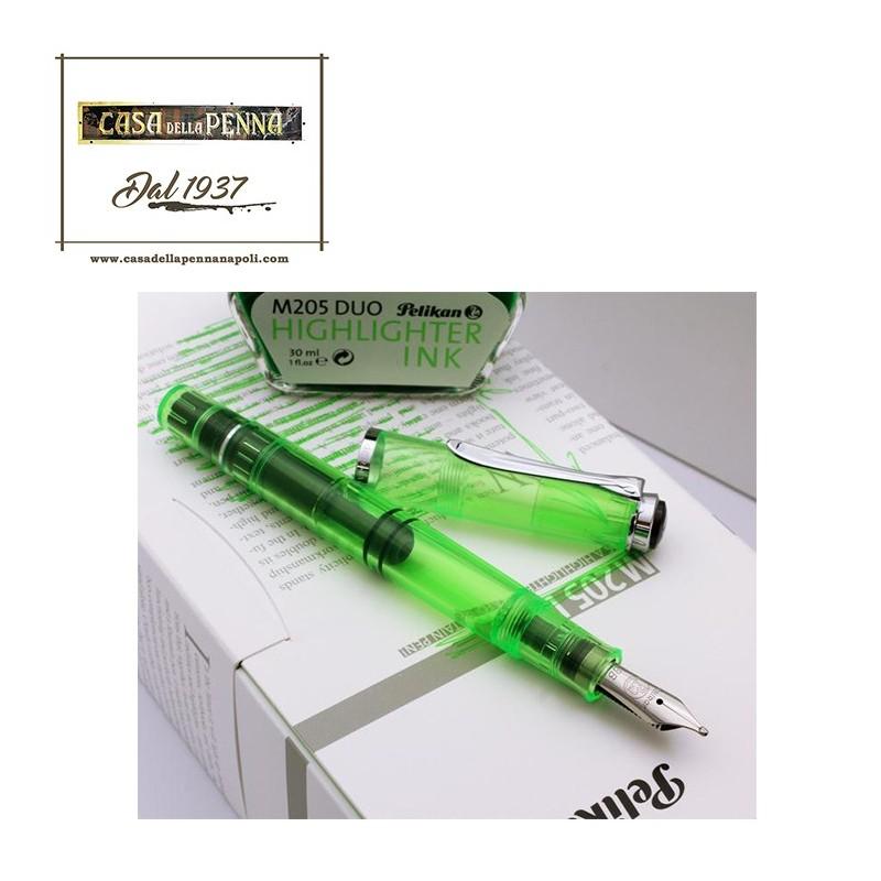 PELIKAN 205 Duo Shinny Green  - stilografica