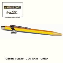 100° Anniversario color - penna sfera CARAN D'ACHE