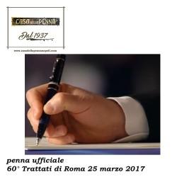 60° TRATTATI DI ROMA 2017 - penna roller