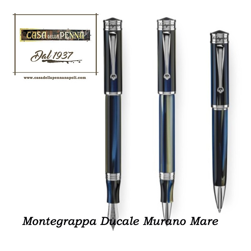 Punta Fine Montegrappa Stilografica Ducale Murano