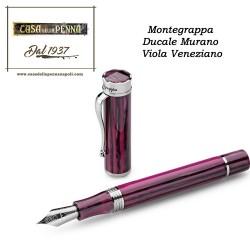 Ducale Murano Viola Veneziano  - penna Montegrappa