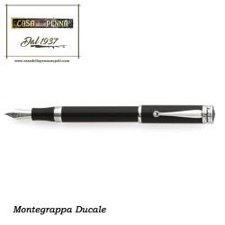 Ducale nera e palladio - penna Montegrappa