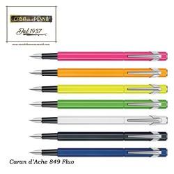 penna stilografica Caran d'Ache 849 Fluo