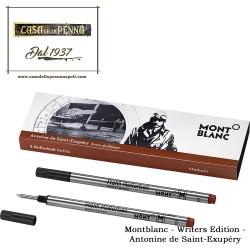 2 refill penna roller - rollerball pen MONTBLANC Antonine de Saint-Exupéry Novità 2017