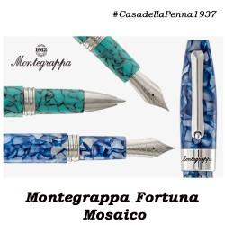 Mosaico Roma, Barcellona, Marrakech - penne Montegrappa
