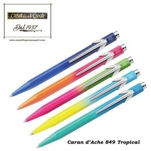 849 Tropical - penna sfera Caran d'Ache