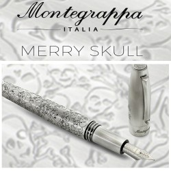 penna Montegrappa Merry Skull