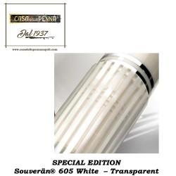 Souverän® 605 White – Transparent - penna PELIKAN
