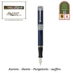 Dante Purgatorio zaffiro- versione esclusiva - penna Aurora