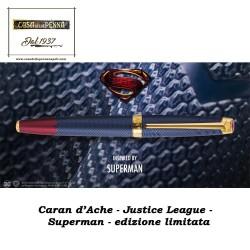 SUPERMAN - Justice League - Caran d'Ache - penna edizione limitata