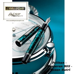 Souverän® 805 Ocean Swirl - pennaPELIKAN SPECIAL EDITION