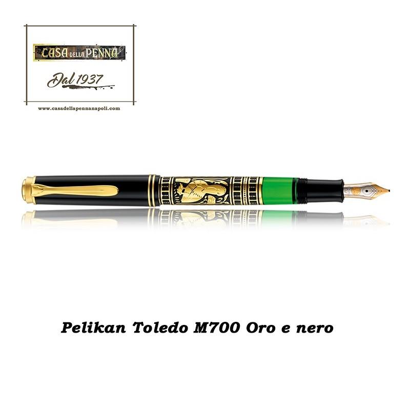 M700 oro e nero OFFERTA - penna stilografica PELIKAN