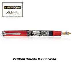 PELIKAN Toledo M700 rossa OFFERTA! - penna stilografica
