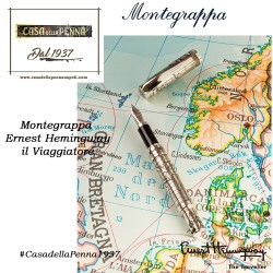 Ernest Hemingway - il Viaggiatore - penna MONTEGRAPPA