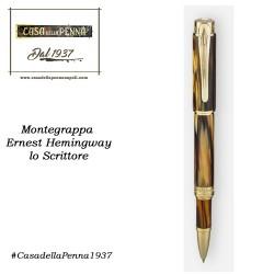 Ernest Hemingway - lo Scrittore- penna MONTEGRAPPA