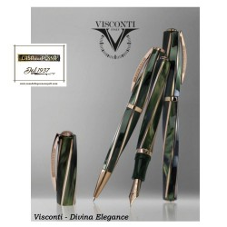 Divina Elegance Green & Bronze  - penna Visconti