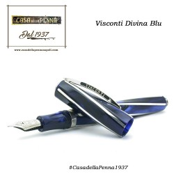penna VISCONTI Divina Elegance - Medium - Blu