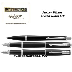 PARKER Urban Muted Black CT penna  sfera / roller / stilografica