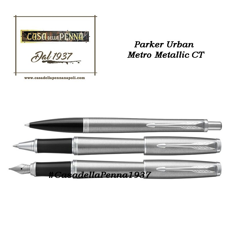 PARKER Urban Metro Metallic CT  penna sfera / roller / stilografica