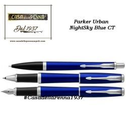 PARKER Urban Night Sky Blue CT  penna sfera / roller / stilografica