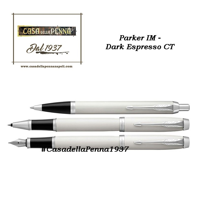 PARKER IM Light White CT  penna sfera / roller / stilografica