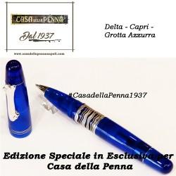 Grotta Azzurra by Delta - Esclusiva Casa della Penna - penna sfera + refill roller omaggio