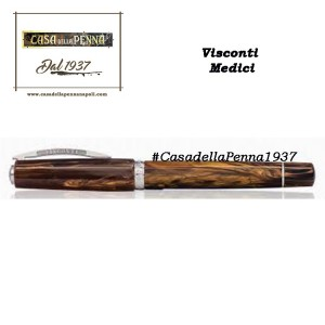 penna VISCONTI Divina Black - Medium - Nero