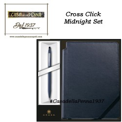 CROSS Click Midnight - set penna + blocco note