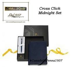 CROSS Click Midnight - set penna + blocco note