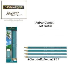 set matite faber castell ocean or coffee
