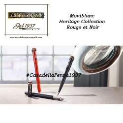 Heritage Collection Rouge et Noir - penna NOIR Montblanc