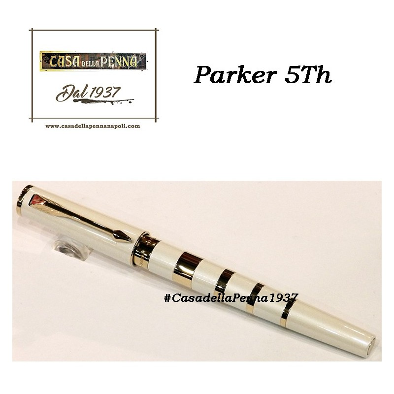 Slim Pearl & Metal Ring GT- penna PARKER Ingenuity 5th