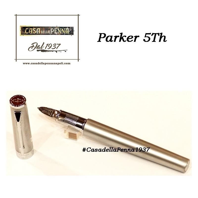 Large Black Rubber & Metal Rings GT- penna PARKER Ingenuity 5th