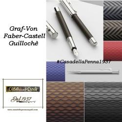 Guillochè Ciselè ANTRACITE Colour Concept Penna Graf-Von Faber-Castell  sfera - roller- stilo in offerta