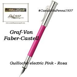 Guillochè Ciselè ROSA Colour Concept Penna Graf-Von Faber-Castell  sfera - roller- stilo in offerta