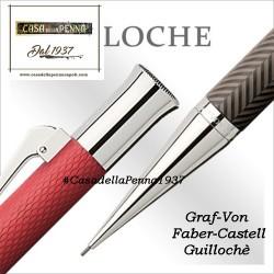 Guillochè Ciselè CORALLO Colour Concept Penna Graf-Von Faber-Castell  sfera - roller- stilo in offerta