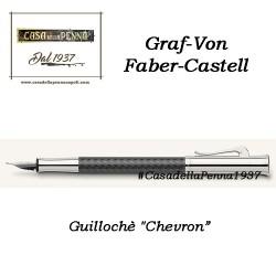 Guillochè Ciselè CHEVRON Colour Concept Penna Graf-Von Faber-Castell  sfera - roller- stilo in offerta