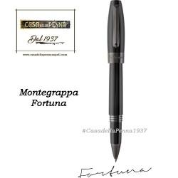 MONTEGRAPPA Fortuna Rutenio e Nero penna sfera - roller - stilo
