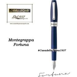 MONTEGRAPPA Fortuna Palladio e Blu penna sfera - roller - stilo