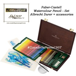 FABER-CASTELL 48 Watercolour pencil - set Albrecht Durer + Accessories  pastelli acquarellabili