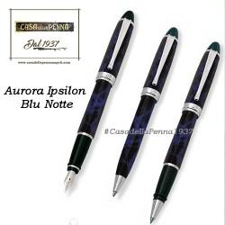 AURORA Ipsilon Blu Notte penna sfera - roller - stilografica