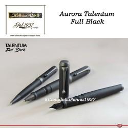 AURORA Talentum Full Black - penna sfera - roller - stilografica
