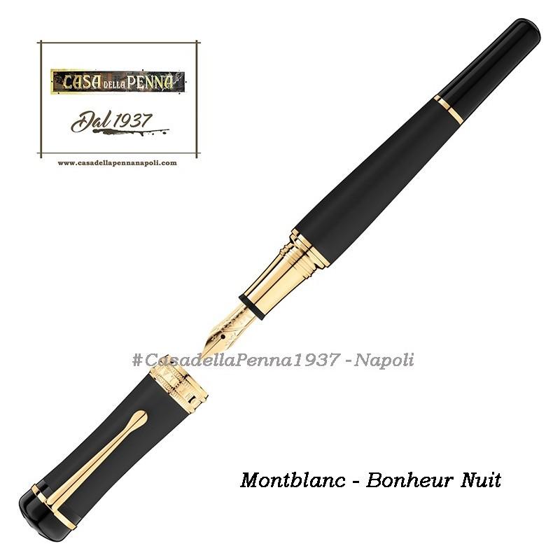 penna MONTBLANC Bonheur Nuit - sfera, roller, stilografica