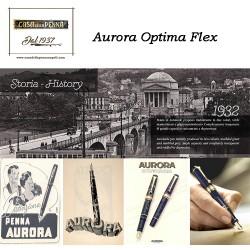 AURORA Optima Flex Light-Blue - penna edizione limitata