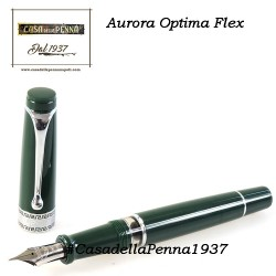 AURORA Optima Flex Green - penna stilografica edizione limitata